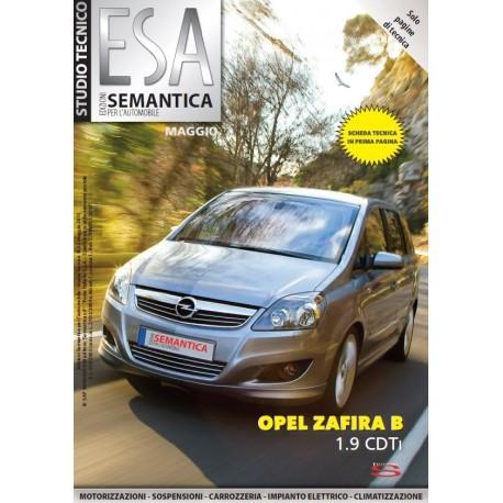 OPEL ZAFIRA B 1.9 CDTi n°119